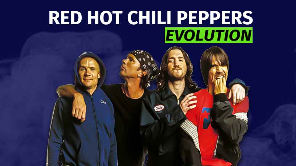 Red Hot Chili Peppers Evolution