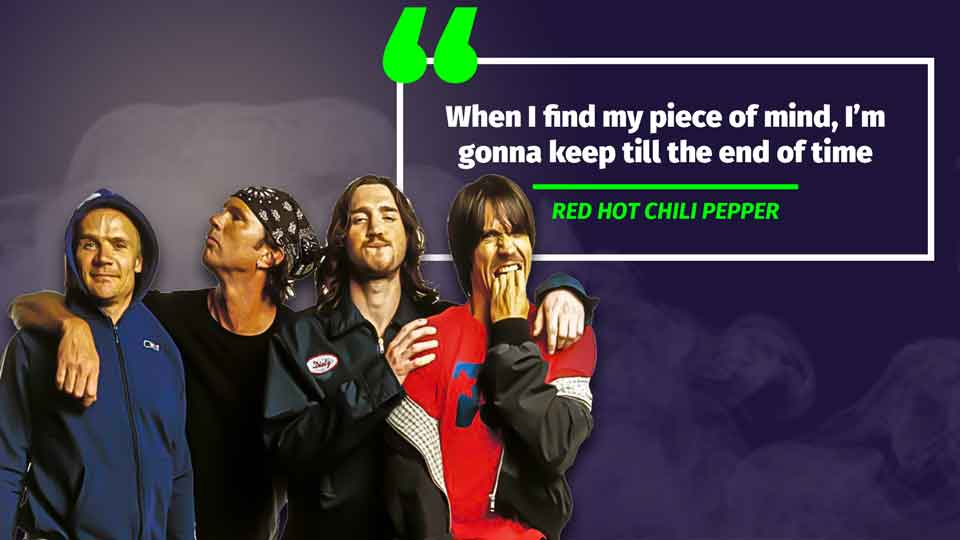 Red Hot Chili Peppers quote 3